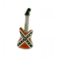 "Значок ""confederate guitar"""