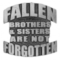 """Значок """"Ушедшие в мир иной братья и сестры навсегда в нашей памяти"""""""