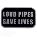 """Значок """"Громкие трубы спасают жизни"""""""