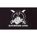 "Флаг ""BLACKBEARD LIVES!"""
