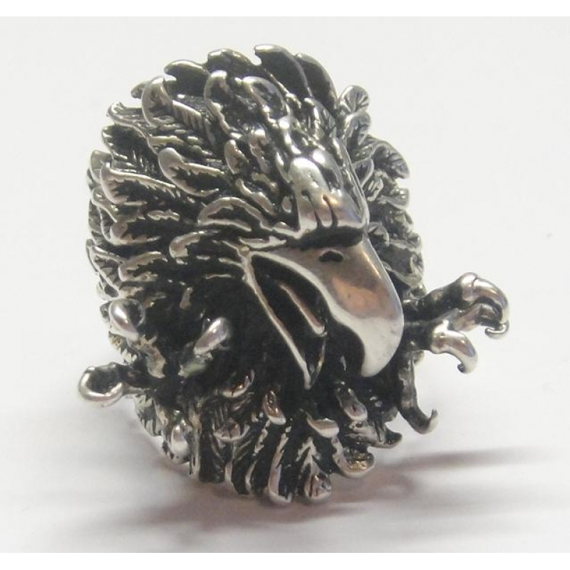 массивный серебряный браслет