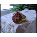 """Перстень """"Крест Лотарингии"""" ( Croix de Lorraine )"""