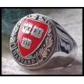"""Перстень Гарвардского Университета """"Veritas"""""""