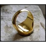 """Позолоченный перстень """"Масон"""""""