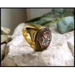 Перстень Великого Магистра Ордена Тамплиеров Жака Де Моле