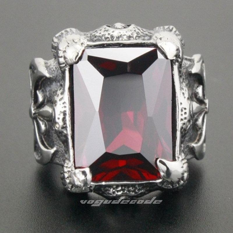 Массивный мужской перстень с кубическим цирконием