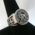 Перстень крестоносца-тамплиера