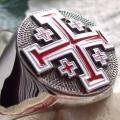 """Перстень """"Иерусалимский крест"""""""