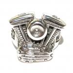 """Перстень мужской """"Мотор Harley Davidson"""""""