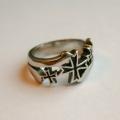 Перстень с крестами