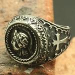 Массивный рыцарский перстень