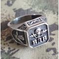 """Перстень """"Воздушно-десантные войска"""" из серебра 925 пробы"""