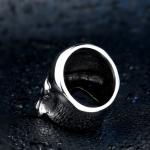 """Массивный стальной перстень """"Череп"""""""