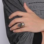 Перстень с черепом и скорпионом