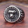 """Стальной перстень """"Harley Davidson"""""""