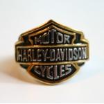 """Массивный стальной перстень """"Harley Davidson"""""""