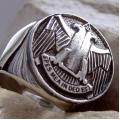 """Масонский перстень """"Древний и принятый шотландский устав"""""""