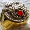 """Масонский перстень """"Храмовник"""""""