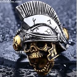 """Перстень """"Череп в шлеме"""""""