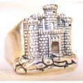 """Перстень """"Средневековый замок"""""""