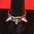 Cтальной перстень с шипами