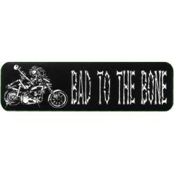 """Виниловый стикер на шлем/мотоцикл """"Плохой в доску"""""""