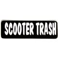 """Виниловый стикер на шлем/мотоцикл """"Scooter Trash"""""""