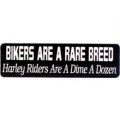 """Виниловый стикер на шлем/мотоцикл """"Байкеры-редкая порода..."""""""