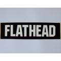 "Виниловый стикер на шлем/мотоцикл ""Flathead"""