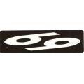 """Виниловый стикер на шлем/мотоцикл """"69"""""""