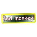 """Виниловый стикер на шлем/мотоцикл """"Плохая обезьяна"""""""