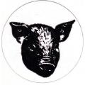 """Виниловый стикер на шлем/мотоцикл """"Свин"""""""