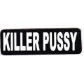 """Виниловый стикер на шлем/мотоцикл """"Killer Pussy"""""""
