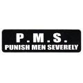 """Виниловый стикер на шлем/мотоцикл """"P.M.S."""""""