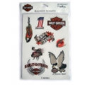 """Комплект из 8 магнитов """"Harley Davidson"""""""