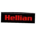"Виниловый стикер на шлем/мотоцикл ""Hellian"""