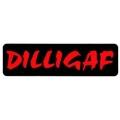"""Виниловый стикер на шлем/мотоцикл """"DILLIGAF"""""""